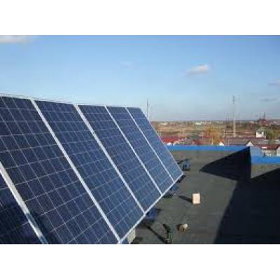 Громоотвод для солнечных батарей