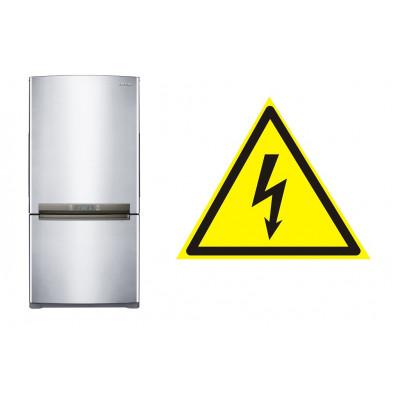 Ваш холодильник бьет вас электрическим током, что делать?