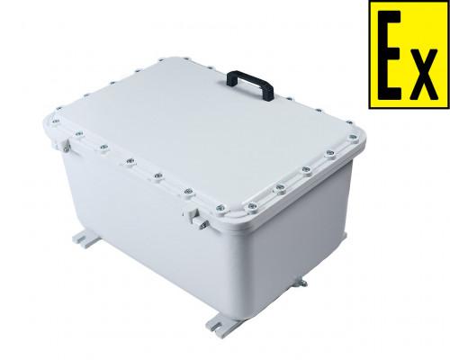 Ящик ГЗШ взрывозащищенный на 10 подключений, шина медная 40х4