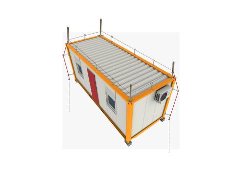 Комплект молниезащиты контейнера 40 футов